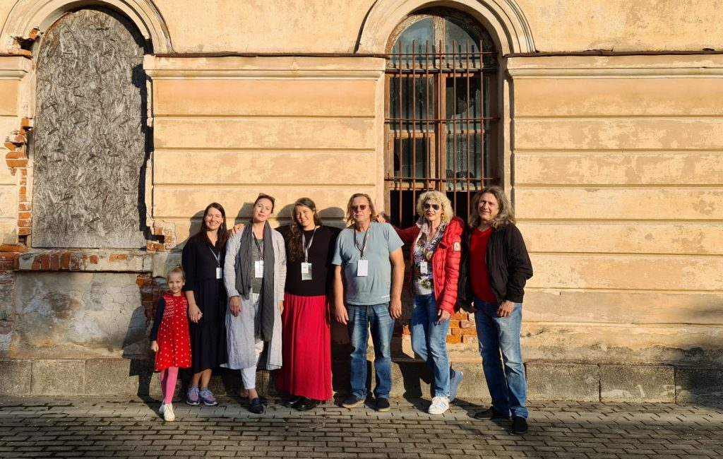 Künstlersymposium Silva Linarte in Daugavpils Mark Rothko Art Center,Lettland
